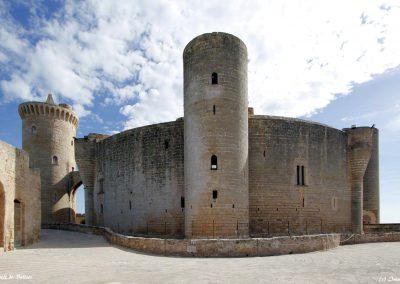 Castell de Bellver (Weitwinkel)
