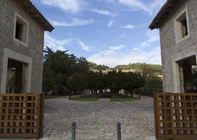 Kloster Lluc Eingang