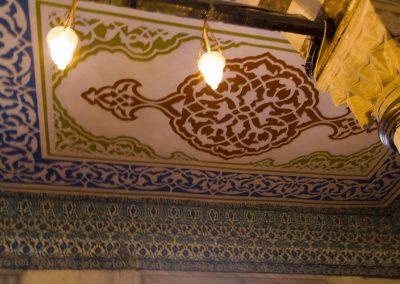 Istanbul, Blaue Moschee Decke
