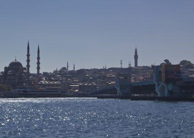 Istanbul, Galatabrücke, Neue Moschee