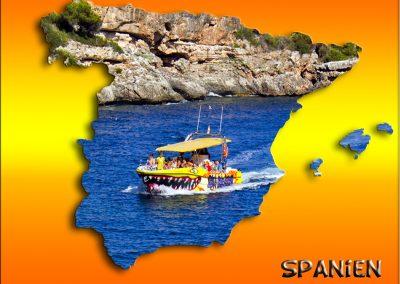 mapa Spanien