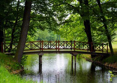 Parque del Príncipe Pückler, Puente del Lago de la Serpiente